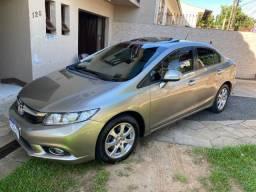 Título do anúncio: Honda Civic 1.8 EXS carro com consórcio 2012