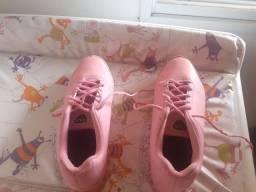 Vendo tênis filha rosa