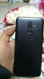 Título do anúncio: Samsung j8 usado em ótimo estado com nota fiscal e acessórios