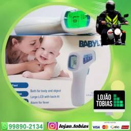Termômetro Digital Laser Infravermelho Babyly