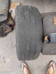 Aro 15 com pneu meia vida ainda tá pra roda muito