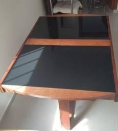 Título do anúncio: Mesa de jantar extensível com 4 cadeiras
