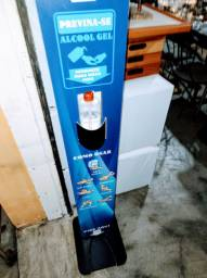 Totem Display Álcool em Gel Personalizado
