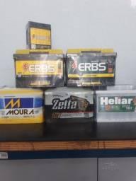 Baterias novas com garantia