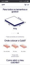 Colchão guldi king size