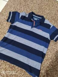 Camisa Polo DPTO Original e relógio CK 2° linha