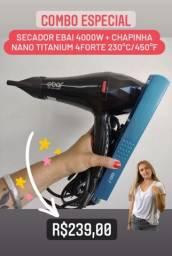 Título do anúncio: Kit secador e chapinha $239