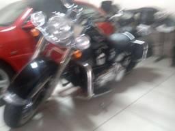 Moto Harley Davidson Softail de luxe