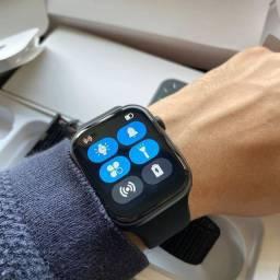 Smartwatch Iwo 13 FK88 - Top de linha - Tela Infinita - Faz e recebe ligações