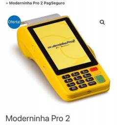 Maquineta Moderninha Pro2 Improme PagSeguro