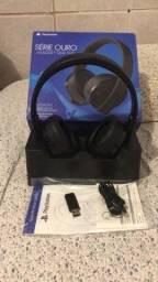 Título do anúncio: Fone de ouvido Headset Gamer Sony Gold Wireless, PS4