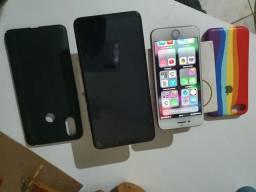 Título do anúncio: Troco 2 celular em um Iphone 8 plus 256 gigas ou outros mais caro dou volta