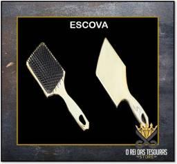 Escova raquete para salão e barbearia