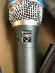 Título do anúncio: Microfone Shure beta 87A primeira linha
