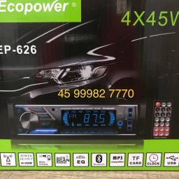 Rádio automotivo Novo Bluetooth R$110