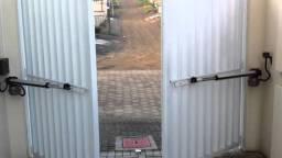 Portão de Dobradiças com Motor ( Aluminio / Ferro )