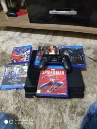 PS4 5 jogos um cotroler