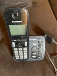 Telefone sem fio e com secretaria eletrônica