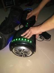 Hoverboard X usado, bluetooth funcionando tudo