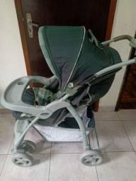 Título do anúncio: Carrinho de bebê com bebe conforto