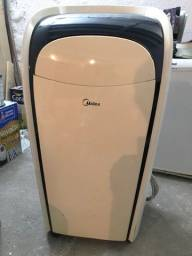 Ar Condicionado Midea portátil com pouco uso