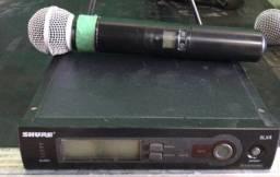Microfone sem fio Shure