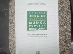 Título do anúncio: Dicionário Houaiss Ilustrado Música Popular Brasileira Editora Paracatu