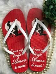 Sandálias p/Dia dos Namorados