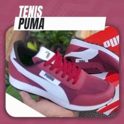 Título do anúncio: Tênis Tenis Puma Fish Várias Cores (Leia com Atenção)
