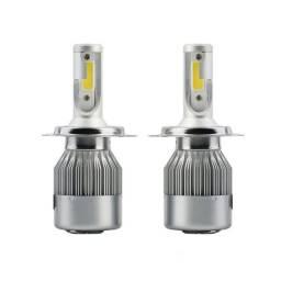 Par de lampada led H4 para farol