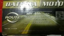 Bateria 8ah para moto nova