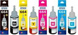 Tintas epson inktec originais 100% Kit com 4 cores