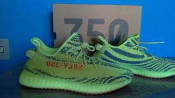Adidas yeezy boost 350 semi frozen yellow tam45 veste tam 44 original