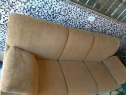 Vendo sofá chenile 3 e 2 lugares