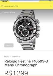 d8668188265 Vendo Relogio Original ( Festina F16599 )