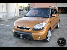 Kia Motors Soul ex aut. 2011 *top*couro*financio 100% sem entrada*duvido igual*lindo - 2011