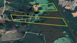 REF. 2453 Areial com cavas e tanques de peixe, com 10 alqueires á 5 km do Centro