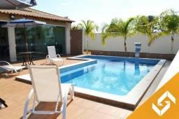 Linda casa c/4 suítes, piscina e sinuca p/baixa temporada em Caldas Novas. Cód 1015