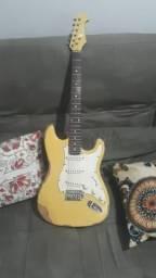 Guitarra eagle sts001 relic