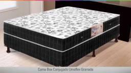 Promoção Incrivel - cama Box Casal Conjugada Preta - chamanozap