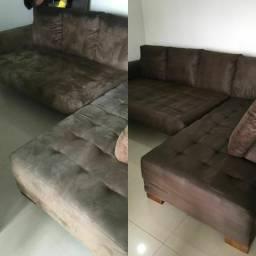 Seu sofá limpinho e cheiroso como novo