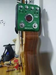 Pedaleira Zoom A2 para violão