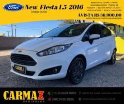 New Fiesta 1.5 Completo 2016 Único Dono e Tirado zero Ford Florisa comprar usado  Içara