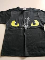 Camisetas personagens infantis
