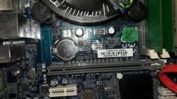 PLACA MÃE IPMH61H2-M12 (Usado, 3° Geração) + Memória 4GB