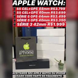 Apple Watch série 5 44mm novo lacrado na caixa com 1 ano de garantia Apple