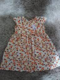 Vestidinho Infantil ( tamanho G veste 3-5 anos )