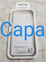 Capa Samsung Galaxy S7 Clear Cover (EF-QG930) Original