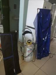 Maquina de fazer limpeza de ar-condicionados