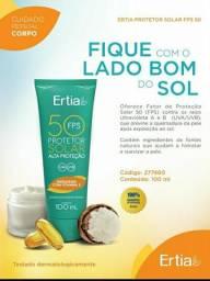 Protetor solar Ertia FPS 50 com vitamina E